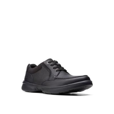 クラークス ドレスシューズ シューズ メンズ Men's Bradley Vibe Lace-Up Shoes Black Tumbled