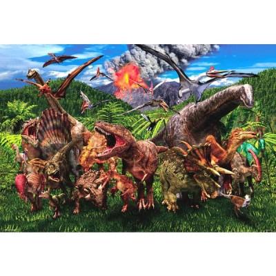 ジグソーパズル BEV-L74-175 服部 雅人 大恐竜ワールド 150ラージピース