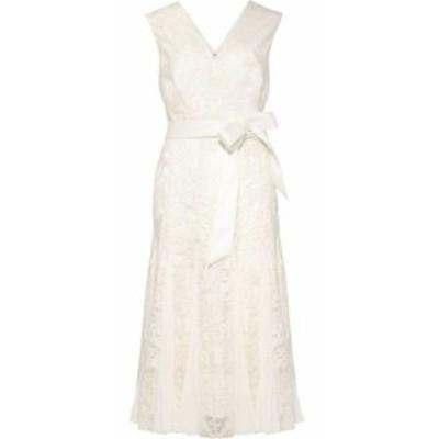 フェイズ エイト Phase Eight レディース パーティードレス ワンピース・ドレス caterina embroidered flared dress Pale Cream