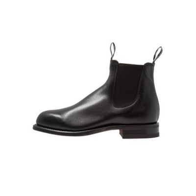 メンズ 靴 シューズ COMFORT TURNOUT ROUND G FIT - Classic ankle boots - black