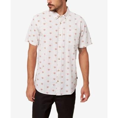 オニール シャツ トップス メンズ Men's Horizon Button-Up Shirt White