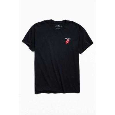 アーバンアウトフィッターズ Urban Outfitters メンズ Tシャツ トップス The Rolling Stones Embroidered Tee Black