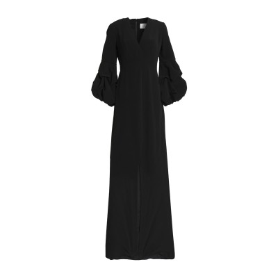 アレクシス ALEXIS ロングワンピース&ドレス ブラック XS レーヨン 100% ロングワンピース&ドレス