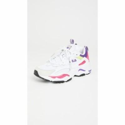 フィラ Fila レディース スニーカー シューズ・靴 Ray Tracer Sneakers White/Magenta/Electric Purple