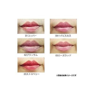 ロゴナ(LOGONA) 日本正規輸入品リップスティック 01コッパー 口紅 フルーティ 赤みの強い茶色 4.5g