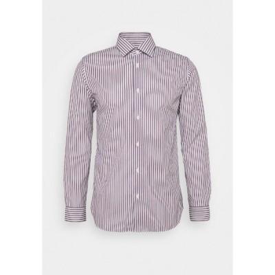 セレクテッドオム シャツ メンズ トップス SLHREGPEN-TED SHIRT STRIPES - Shirt - bright white