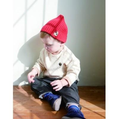 moimoln / ジェリーニットキャップ KIDS 帽子 > キャップ
