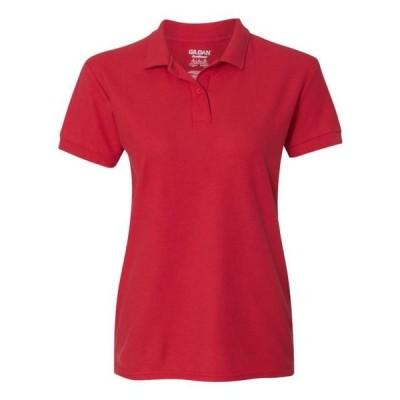 レディース 衣類 トップス Gildan - DryBlend Women's Double Pique Sport Shirt - 72800L ブラウス&シャツ