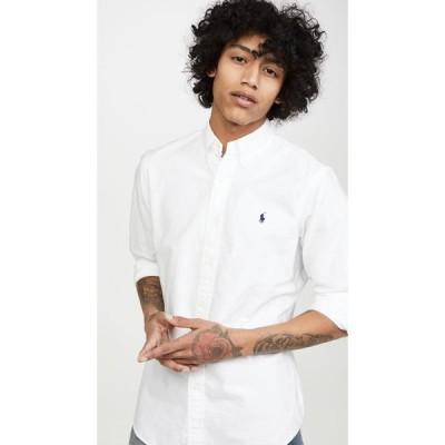 ラルフ ローレン Polo Ralph Lauren メンズ シャツ トップス Garment Dyed Oxford Shirt White