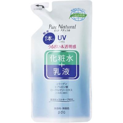 pdc ピュアナチュラル エッセンスローションUV(つめかえ用)