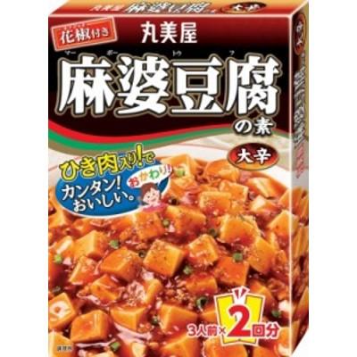 丸美屋 麻婆豆腐の素 大辛 162g まとめ買い(×10) 4902820201017(tc)