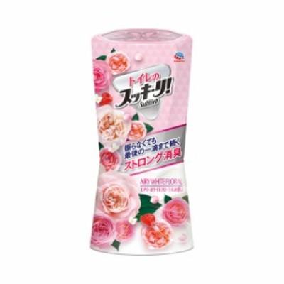 アース製薬 トイレのスッキーリ!Sukki-ri! エアリーホワイトフローラルの香り 【品番:4901080623119】