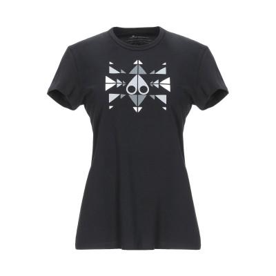 MOOSE KNUCKLES T シャツ ブラック XS コットン 100% T シャツ