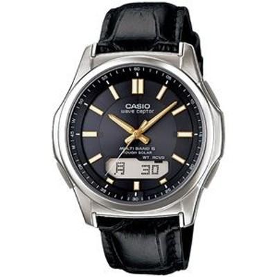 ds-2187608 腕時計 電波 ソーラー 紳士用 ウォッチ 黒 WVA‐M630L‐1A2JF【代引不可】 (ds2187608)
