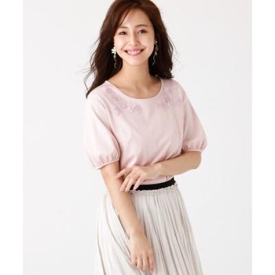 tシャツ Tシャツ スーピマコットンポンチカットソー