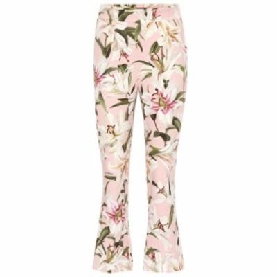 ドルチェ&ガッバーナ Dolce & Gabbana レディース クロップド ボトムス・パンツ High-rise cropped strech-crepe pants Gigli Fdo. Rosa