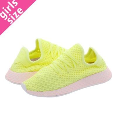 adidas DEERUPT RUNNER W アディダス ウィメンズ ディーラプト ランナー GLOW/GLOW/CLEAR LILAC b37599
