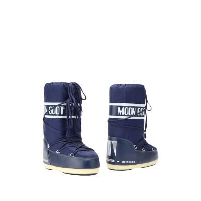 ムーンブーツ MOON BOOT ブーツ ダークブルー 27 紡績繊維 ブーツ
