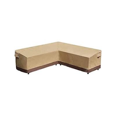 特別価格Mobedyad V Shaped Rattan Garden Sofa Cover 100% Waterproof Outdoor Furnitur好評販売中