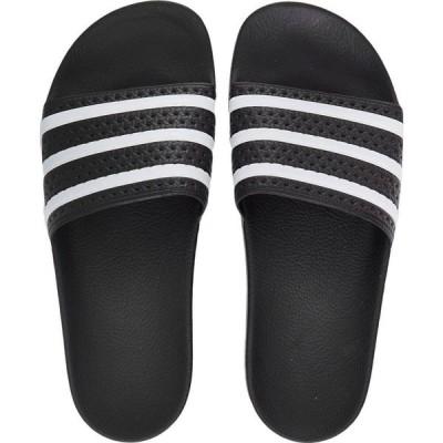 アディダス Adidas メンズ サンダル シューズ・靴 - Adilette Black/White/Black - Sandals black