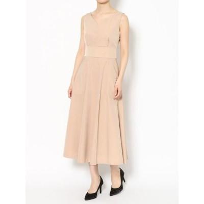 ドレス LADYツイルフレアーDRESS