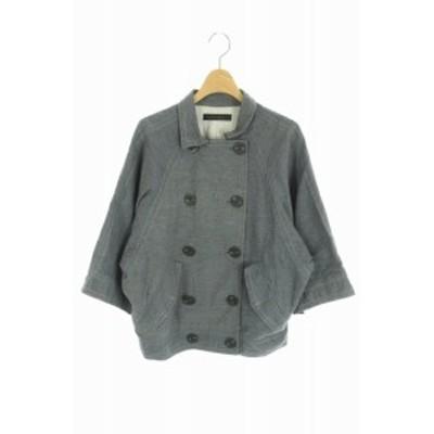 【中古】アメリカンラグシー AMERICAN RAG CIE コート ショート 七分袖 紺 /KN レディース