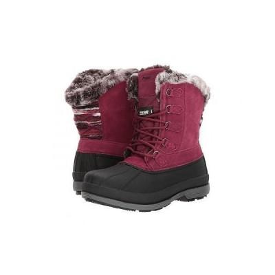 Prop?t プロペット レディース 女性用 シューズ 靴 ブーツ スノーブーツ Lumi Tall Lace - Berry