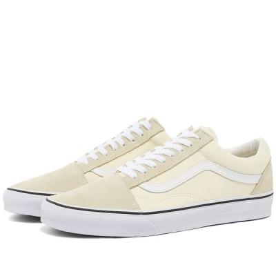 ヴァンズ Vans メンズ スニーカー シューズ・靴 UA Old Skool Classic White/True White