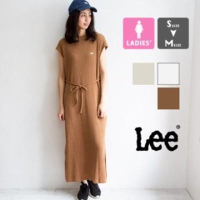 【SALE!!】【 Lee リー 】 WAFFLE DRESS フレンチスリーブ ワッフル ワンピース LT7003 / lee ワンピース ワンピース 夏 レディース ワッ