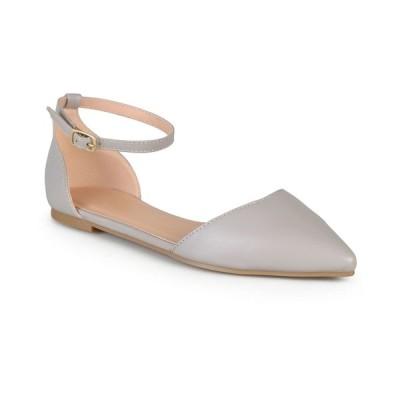ジャーニーコレクション サンダル シューズ レディース Women's Reba Flats Grey