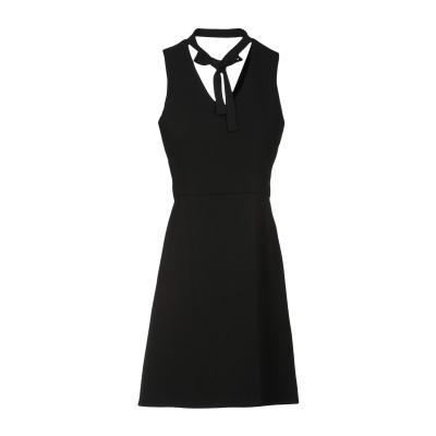 CRISTINAEFFE ミニワンピース&ドレス ブラック 42 ポリエステル 98% / ポリウレタン 2% ミニワンピース&ドレス