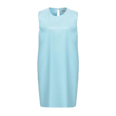 エミリオ・プッチ EMILIO PUCCI ミニワンピース&ドレス スカイブルー 44 シルク 100% ミニワンピース&ドレス
