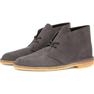 クラークス Clarks Originals メンズ ブーツ シューズ・靴 desert boot Slate Grey