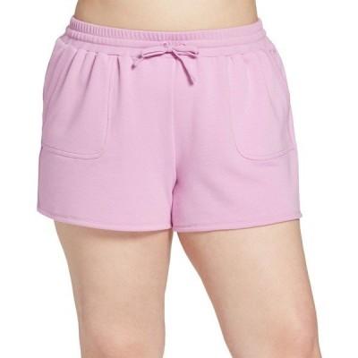 DSG カジュアルパンツ ボトムス レディース DSG Women's Plus Size Fleece Shorts PaleOrchid