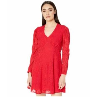 オールセインツ レディース ワンピース トップス Rosi Ani Dress Red