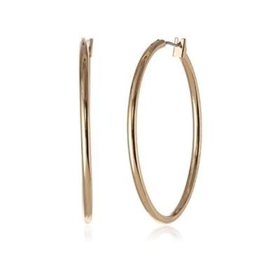 """[アン・クライン]Anne Klein """"Classics"""" Gold-Tone Thin Hoop Earrings ジュエリー[並行輸入品] 並行輸入"""