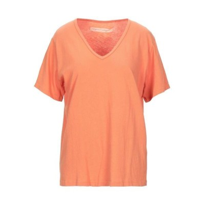 RAQUEL ALLEGRA Tシャツ ファッション  レディースファッション  トップス  Tシャツ、カットソー  半袖 オレンジ