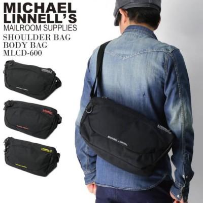 (マイケルリンネル) MICHAEL LINNELL ショルダーバッグ ボディバッグ メンズ レディース