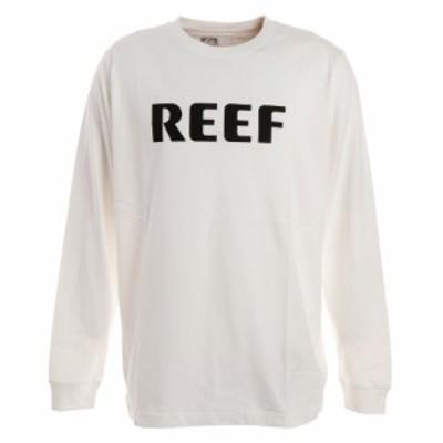 リーフ(REEF)Tシャツ メンズ 長袖 BLOCK RF19FA-1001LS-WHI オンライン価格(Men's)