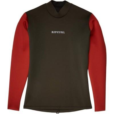 リップカール Rip Curl メンズ ウェットスーツ ジャケット 水着・ビーチウェア Dawn Patrol Reversible 1.5 m Long Sleeve Jacket Khaki
