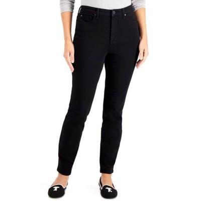 チャータークラブ レディース デニムパンツ ボトムス Tummy-Control High-Rise Skinny Jeans