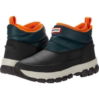 ハンター Hunter レディース ブーツ ショートブーツ シューズ・靴 Original Insulated Snow Ankle Boot Green Jasper/Geysers