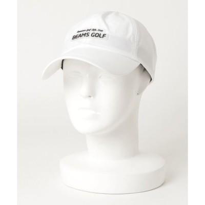 帽子 キャップ <WOMEN>BEAMS GOLF ORANGE LABEL / シリコンワッペン キャップ