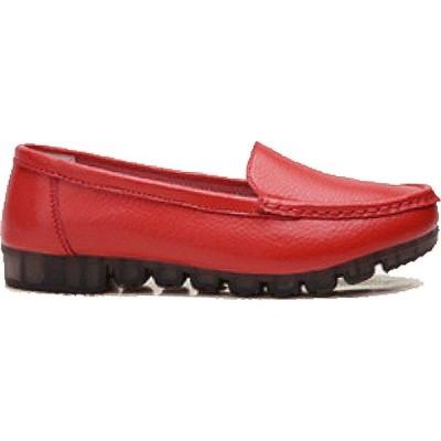 トゥエンティーエイトシューズ Twenty Eight Shoes レディース ローファー・オックスフォード シューズ・靴 Vansa Comfort Lather Loafer Vsw-C1003 Red