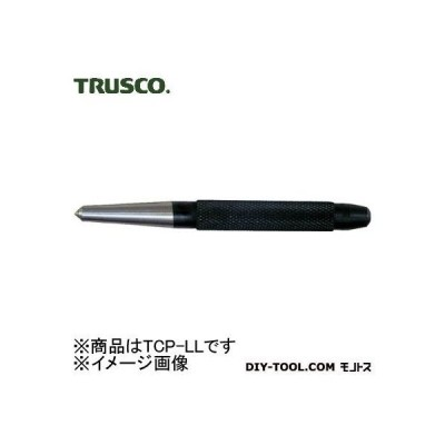 トラスコ(TRUSCO) 超硬チップ付センターポンチ全長LL型125mm直径Φ17 196 x 46 x 19 mm TCP-LL 1