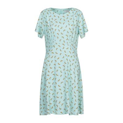 NÜMPH ミニワンピース&ドレス ライトグリーン 38 レーヨン 100% ミニワンピース&ドレス