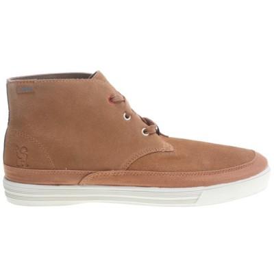 クローム インダストリーズ メンズ スニーカー シューズ・靴 Suede Forged Chukka Shoes Golden Brown/ Off White
