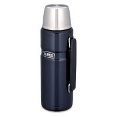 サーモスサーモス(THERMOS) 水筒 ステンレスボトル ROB-001 MDB コップ付き 【送料無料】
