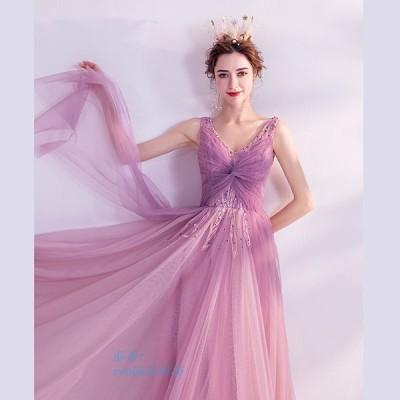 ロングドレス 演奏会 謝恩会 二次会 花嫁 ピアノ 成人式 結婚式 発表会 aライン ウエディングドレス 大人ドレス 40代 30代 大きいサイズ ドレス 20代