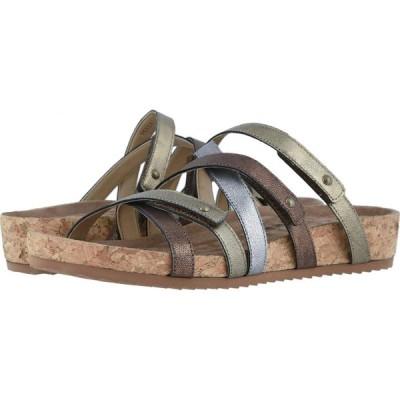ウォーキング クレードル Walking Cradles レディース サンダル・ミュール シューズ・靴 Perla Metallic Multi Leather/Cork Wrap